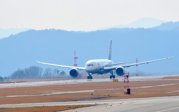 ボーイング787 JA809A? 離陸