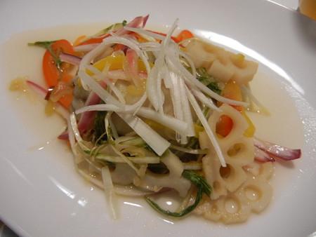 彩り野菜と鯵の南蛮漬け