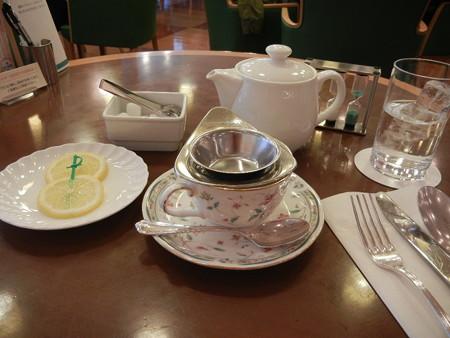 紅茶でスタンバイ