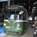 写真: 札幌市電M101