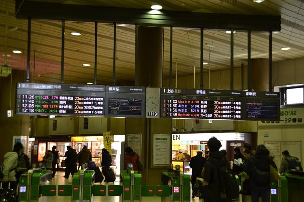 新幹線乗り換え改札 [JR上野駅]