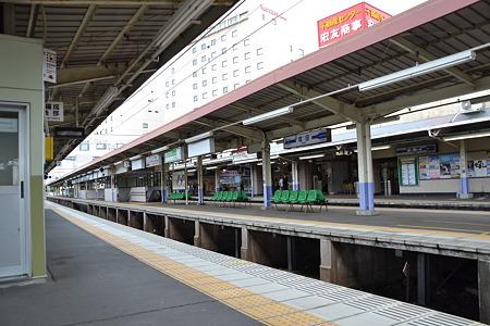 プラットホーム@(京成)成田駅[7/30]