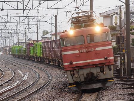 EF81 貨物 奥羽本線秋田~土崎