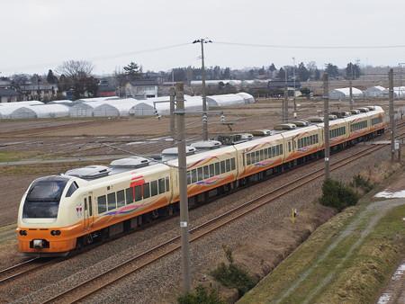 E653系特急いなほ 羽越本線藤島~西袋03