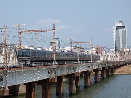 207系普通 東海道本線新大阪~大阪01