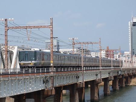 223系新快速 東海道本線新大阪~大阪01