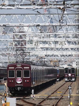 阪急2300系ラストラン 阪急京都線正雀駅01