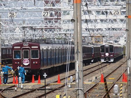 阪急2300系ラストラン 阪急京都線正雀駅02