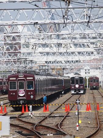 阪急2300系ラストラン 阪急京都線正雀駅03