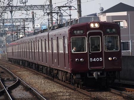 阪急5300系普通 阪急京都線茨木市駅01