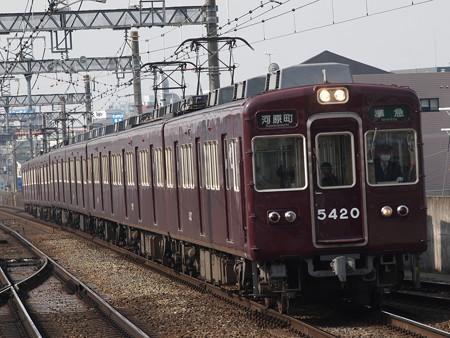 阪急5300系普通 阪急京都線茨木市駅02