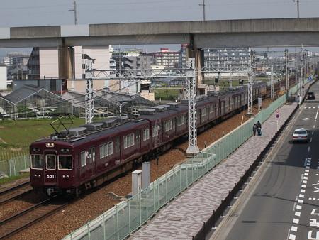 阪急5300系準急 阪急京都線茨木市~南茨木01