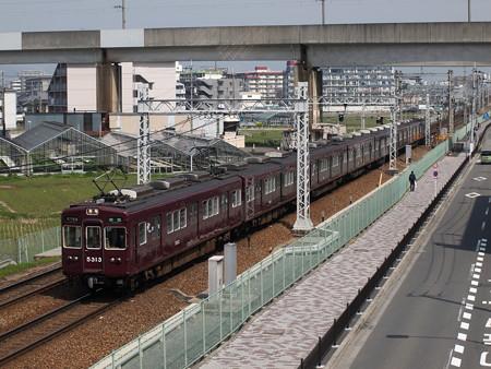 阪急5300系準急 阪急京都線茨木市~南茨木02