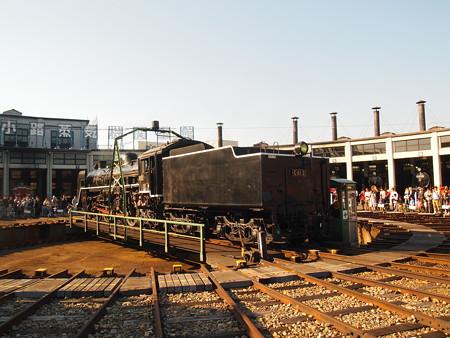 C61 回送  梅小路蒸気機関車館01