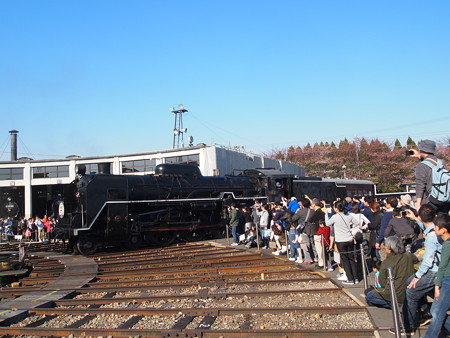 C61 回送  梅小路蒸気機関車館03