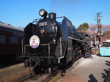 C61 回送  梅小路蒸気機関車館04