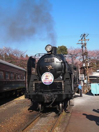 C61 回送  梅小路蒸気機関車館05