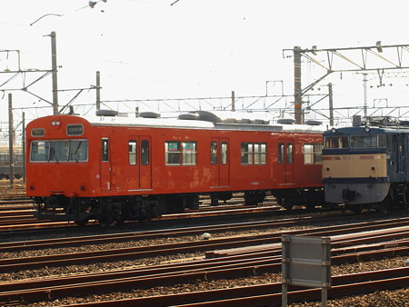 103系トップナンバー  梅小路蒸気機関車館02