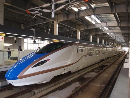 E7系つるぎ 北陸新幹線金沢駅01