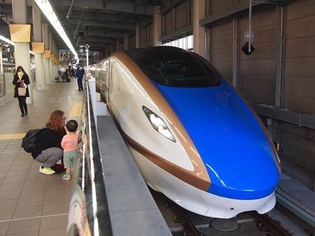 E7系かがやき 北陸新幹線金沢駅01