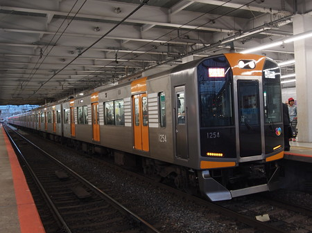 阪神1000系快速急行 近鉄奈良線大和西大寺駅