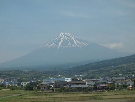 新幹線から見えた富士山06