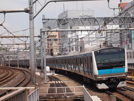 E233系快速 京浜東北線御徒町駅