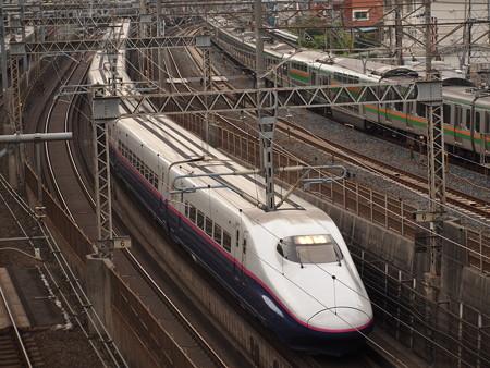 E2系やまびこ 東北新幹線大宮~上野