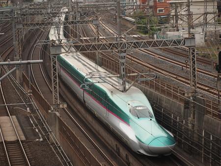 E5系なすの 東北新幹線大宮~上野