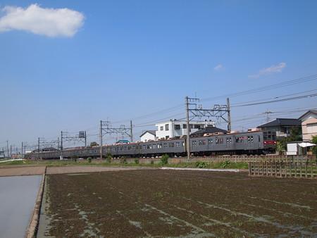 東急8500系普通 東武伊勢崎線東武動物公園前~姫宮03