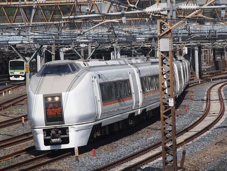 651系特急スワローあかぎ 東北本線尾久~上野