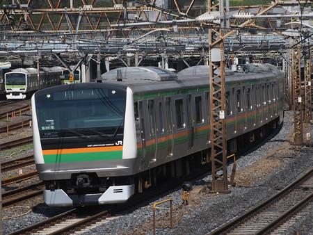 E233系普通 東北本線上野~尾久