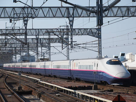 E2系とき   上越新幹線大宮駅01