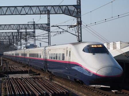 E2系回送 上越新幹線大宮駅