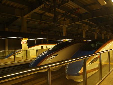 E7系の集まり 北陸新幹線金沢駅01