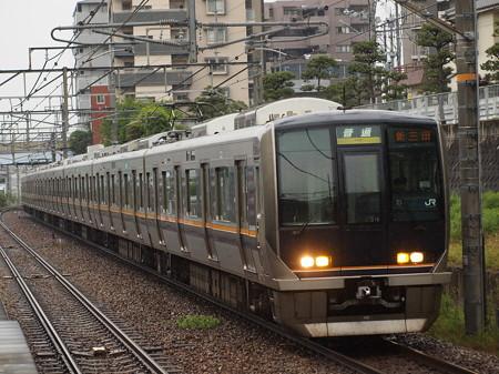 321系普通 福知山線伊丹駅