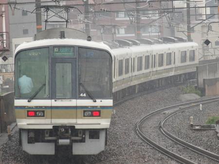 221系大和路快速  大阪環状線芦原橋駅01