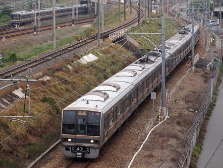 207系快速  東海道本線塚本~尼崎02