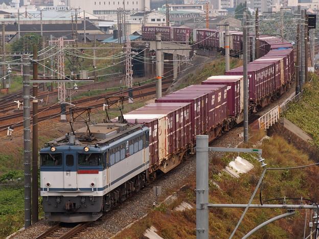 EF65貨物 北方貨物線宮原操車場~塚本信号場