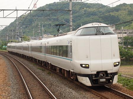 287系特急くろしお 東海道本線島本駅