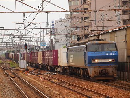 EF200貨物 東海道本線彦根駅