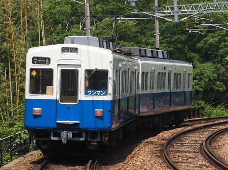 能勢電1500系普通 妙見線山下駅04