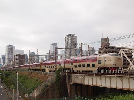 285系サンライズエクスプレス 東海道本線新大阪~大阪02