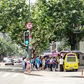 Photos: 暑い夏 上海 淮海路交差点
