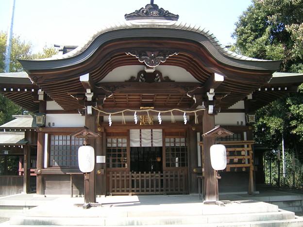 氷上姉子神社1 拝殿