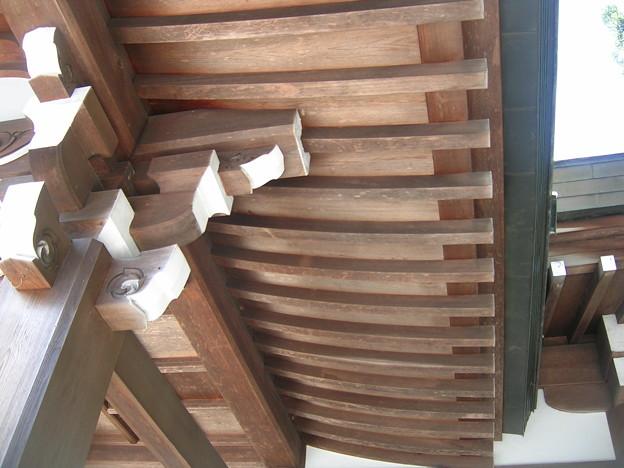 氷上姉子神社4 垂木