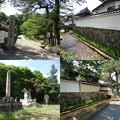 写真: 竹田城お寺通り