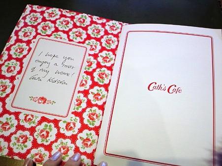 メニューブック@Cath's Cafe