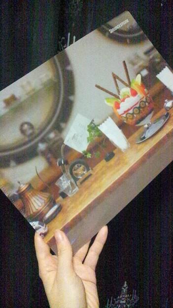 写真: クリアファイル@TAIYA CAFE