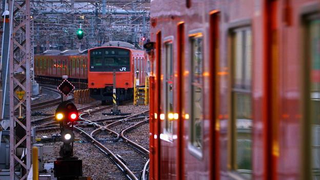 大阪環状線 5:50